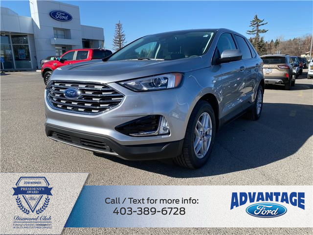 2021 Ford Edge SEL (Stk: M-205) in Calgary - Image 1 of 6