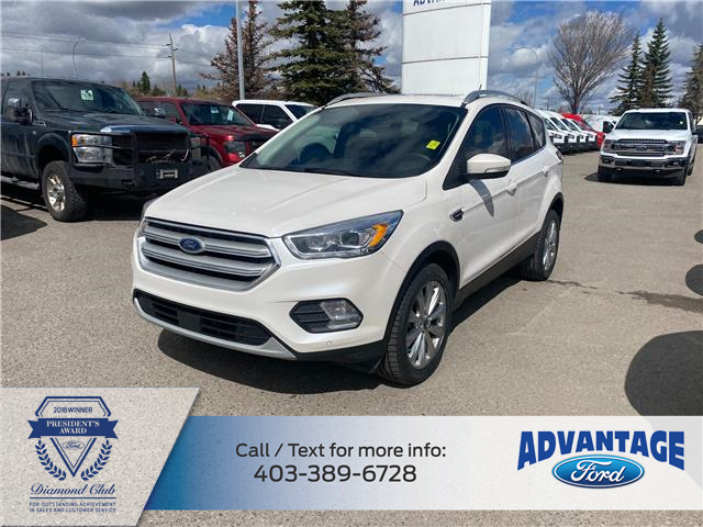 2018 Ford Escape Titanium (Stk: M-317A) in Calgary - Image 1 of 18