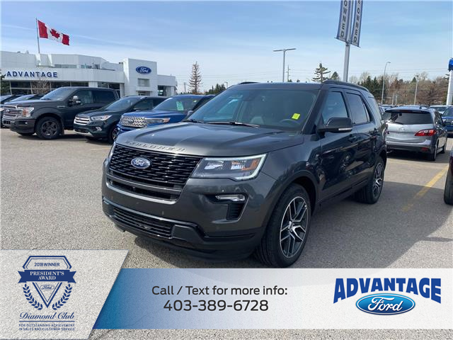 2019 Ford Explorer Sport (Stk: M-241A) in Calgary - Image 1 of 1