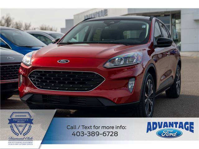 2021 Ford Escape SEL (Stk: M-254) in Calgary - Image 1 of 7