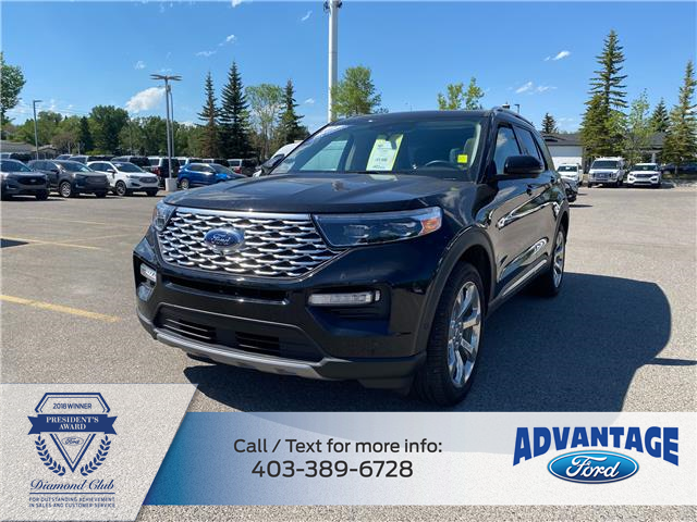 2020 Ford Explorer Platinum (Stk: M-002A) in Calgary - Image 1 of 23
