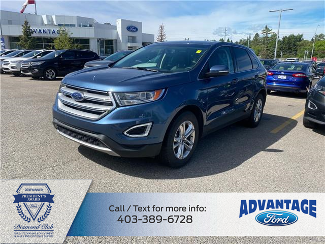 2018 Ford Edge SEL (Stk: M-842A) in Calgary - Image 1 of 1