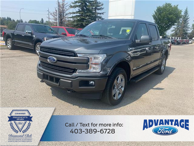 2019 Ford F-150 Lariat (Stk: T24019) in Calgary - Image 1 of 18