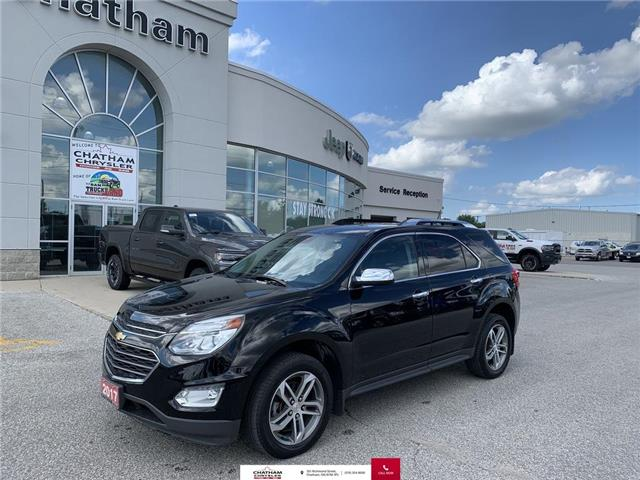 2017 Chevrolet Equinox Premier (Stk: U04597) in Chatham - Image 1 of 29