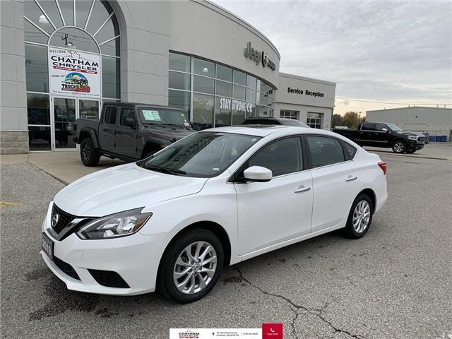 2019 Nissan Sentra  (Stk: U04653) in Chatham - Image 1 of 25