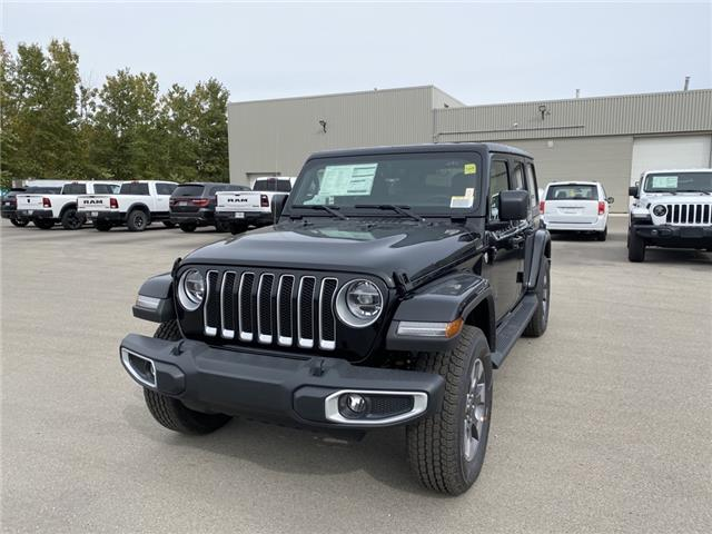 2021 Jeep Wrangler Unlimited Sahara (Stk: N04797) in Chatham - Image 1 of 15