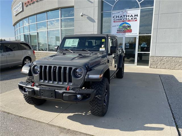 2021 Jeep Gladiator Rubicon (Stk: N04821) in Chatham - Image 1 of 15