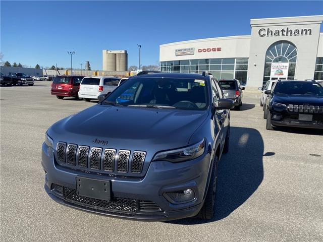 2021 Jeep Cherokee North (Stk: N04876) in Chatham - Image 1 of 18