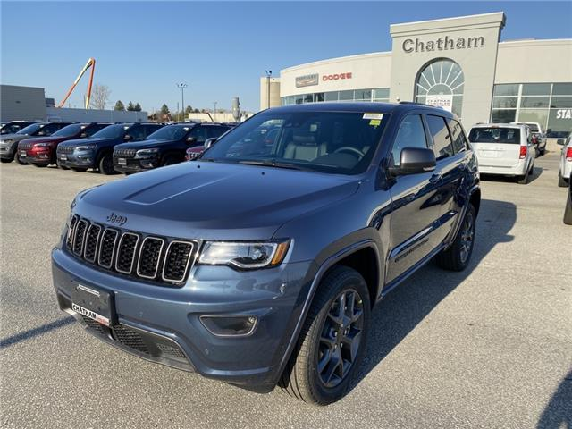 2021 Jeep Grand Cherokee Limited (Stk: N04880) in Chatham - Image 1 of 17