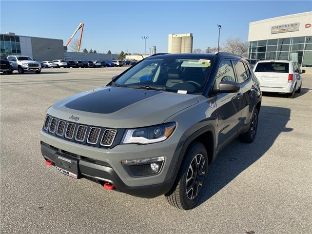 2021 Jeep Compass Trailhawk (Stk: N04868) in Chatham - Image 1 of 16