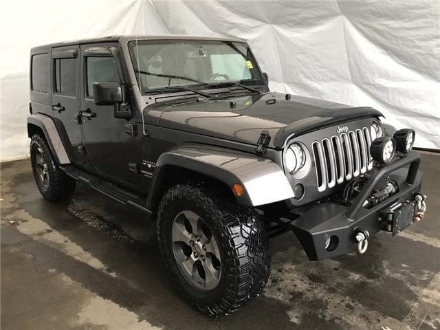 2016 Jeep Wrangler Unlimited Sahara (Stk: 2014151) in Thunder Bay - Image 1 of 17