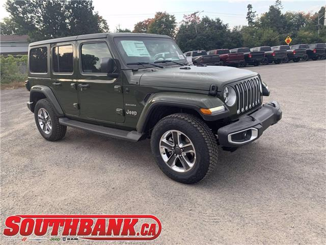 2021 Jeep Wrangler Unlimited Sahara (Stk: 210010) in OTTAWA - Image 1 of 20