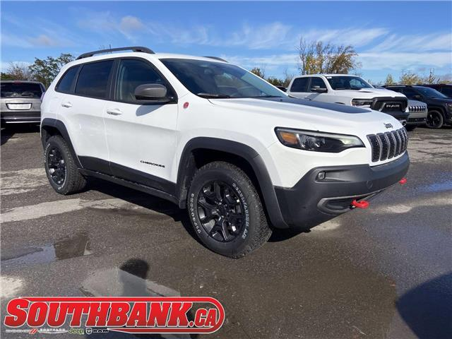 2020 Jeep Cherokee Trailhawk (Stk: 200669) in OTTAWA - Image 1 of 20