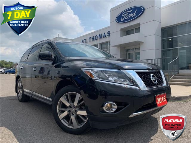 2016 Nissan Pathfinder Platinum (Stk: S0363A) in St. Thomas - Image 1 of 30