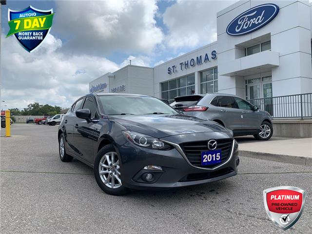 2015 Mazda Mazda3 Sport GS (Stk: T0481A) in St. Thomas - Image 1 of 25