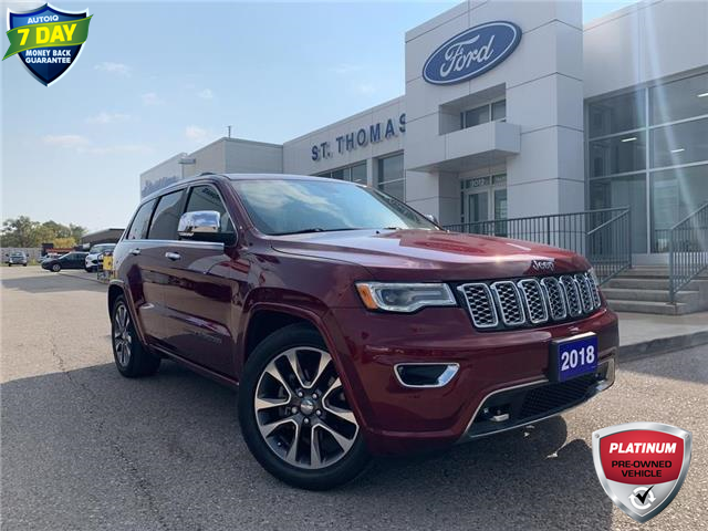 2018 Jeep Grand Cherokee Overland (Stk: S0560A) in St. Thomas - Image 1 of 29