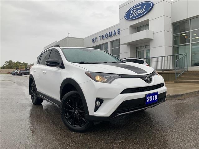 2018 Toyota RAV4 XLE White
