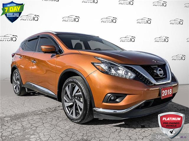 2018 Nissan Murano Platinum (Stk: C0603A) in St. Thomas - Image 1 of 30