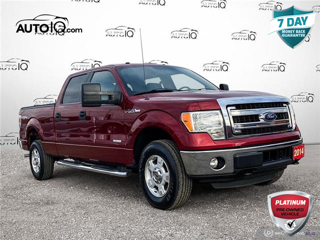 2014 Ford F-150 XLT Red