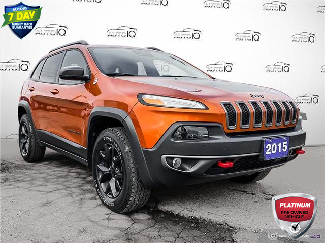 2015 Jeep Cherokee Trailhawk (Stk: S0065A) in St. Thomas - Image 1 of 30