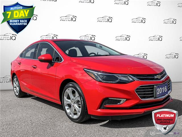 2016 Chevrolet Cruze Premier Auto (Stk: 1131AX) in St. Thomas - Image 1 of 29