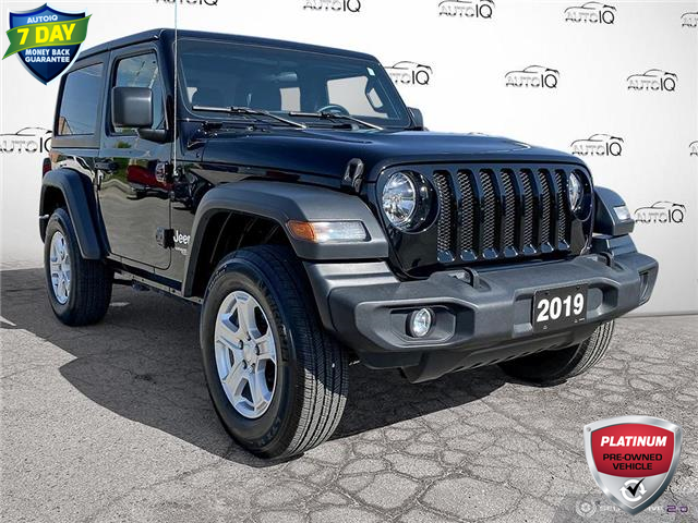2019 Jeep Wrangler Sport (Stk: 1104A) in St. Thomas - Image 1 of 29