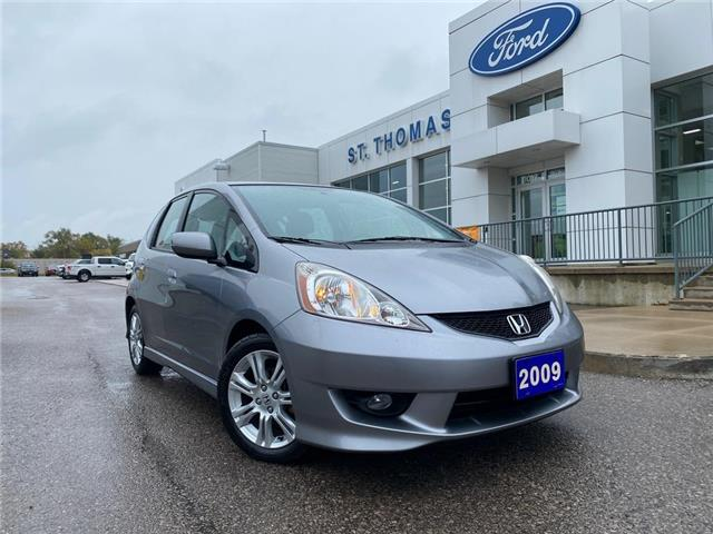 2009 Honda Fit Sport (Stk: T0517A) in St. Thomas - Image 1 of 21
