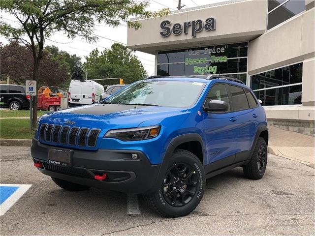 2020 Jeep Cherokee Trailhawk (Stk: 204095) in Toronto - Image 1 of 18