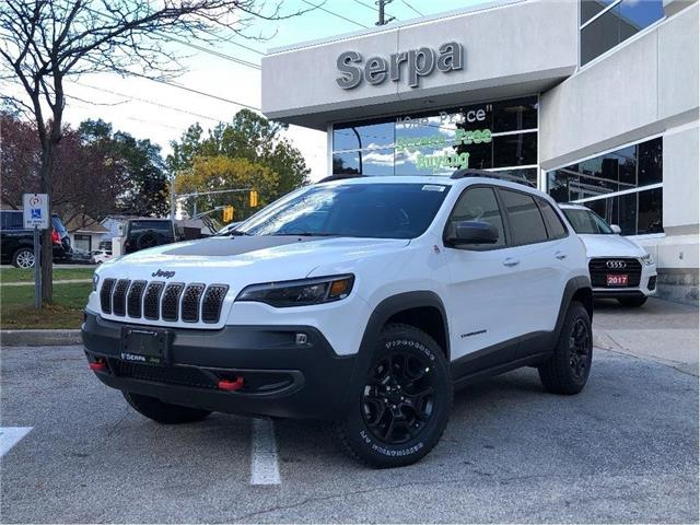 2021 Jeep Cherokee Trailhawk (Stk: 214004) in Toronto - Image 1 of 19