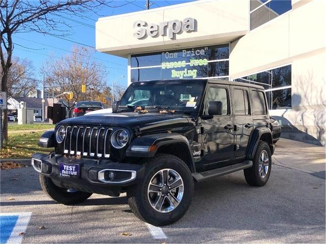2021 Jeep Wrangler Unlimited Sahara (Stk: 214020) in Toronto - Image 1 of 19