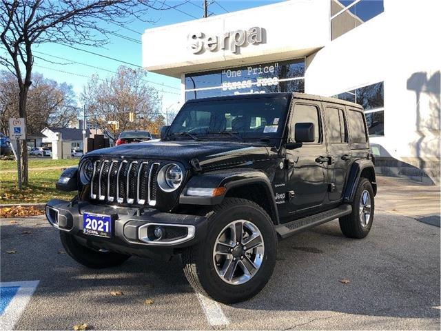 2021 Jeep Wrangler Unlimited Sahara (Stk: 214017) in Toronto - Image 1 of 22