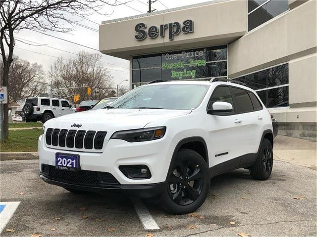 2021 Jeep Cherokee Altitude (Stk: 214022) in Toronto - Image 1 of 22