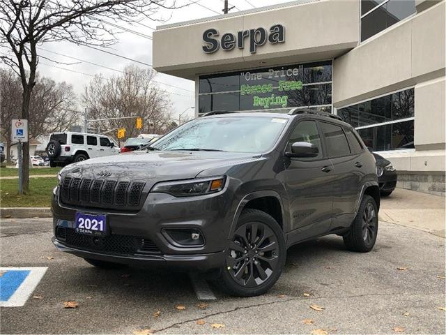 2021 Jeep Cherokee Limited (Stk: 214023) in Toronto - Image 1 of 22