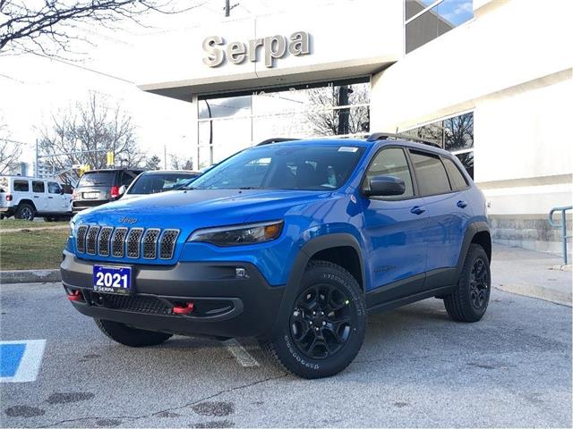 2021 Jeep Cherokee Trailhawk (Stk: 214031) in Toronto - Image 1 of 19