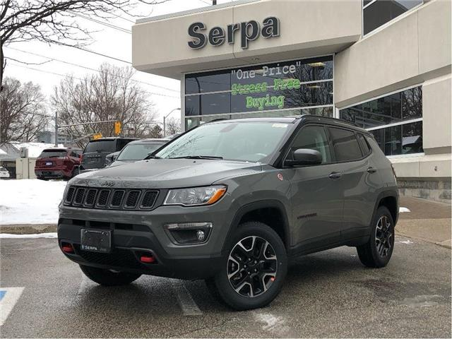 2021 Jeep Compass Trailhawk (Stk: 214037) in Toronto - Image 1 of 18