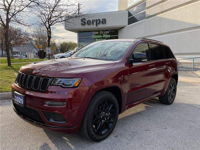 2021 Jeep Grand Cherokee Limited (Stk: 214087DT) in Toronto - Image 1 of 15