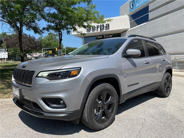 2021 Jeep Cherokee Altitude (Stk: 214040) in Toronto - Image 1 of 16