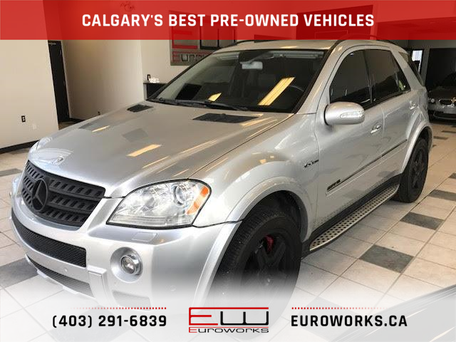 2007 Mercedes-Benz ML63 AMG  (Stk: P1168) in Calgary - Image 1 of 27