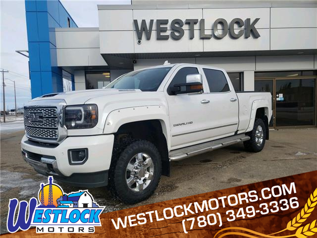 2018 GMC Sierra 3500HD Denali (Stk: 21T41A) in Westlock - Image 1 of 22