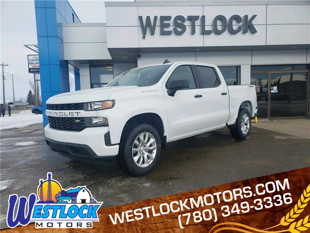 2021 Chevrolet Silverado 1500 Silverado Custom (Stk: 21T86) in Westlock - Image 1 of 20