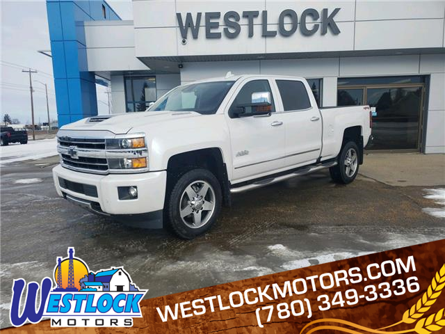 2018 Chevrolet Silverado 2500HD High Country (Stk: 21T79A) in Westlock - Image 1 of 24
