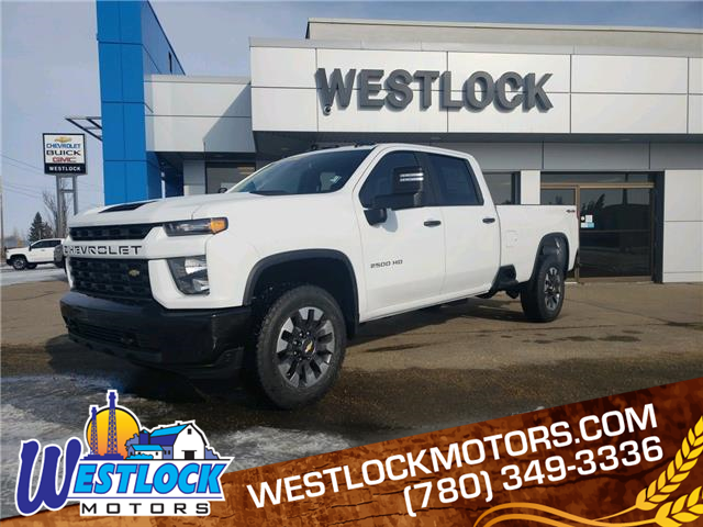 2021 Chevrolet Silverado 2500HD Custom (Stk: 21T73) in Westlock - Image 1 of 19