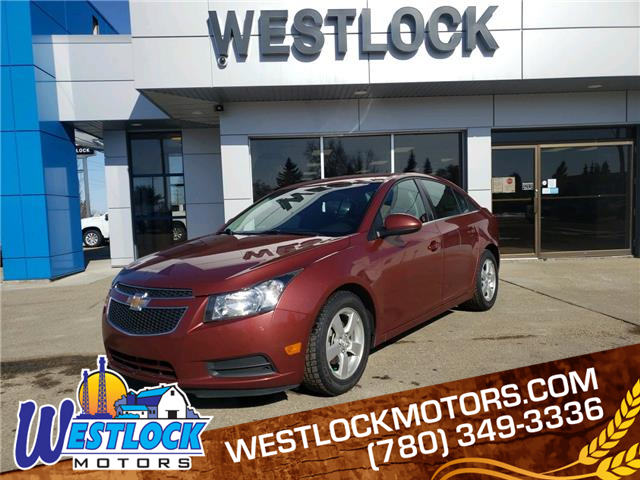 2013 Chevrolet Cruze LT Turbo (Stk: 21T127A) in Westlock - Image 1 of 15