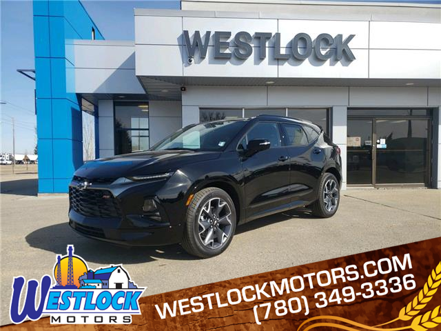 2021 Chevrolet Blazer RS (Stk: 21T155) in Westlock - Image 1 of 18