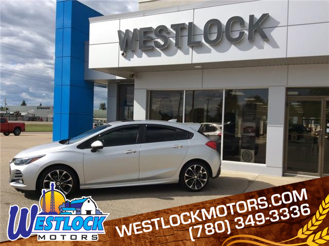 2019 Chevrolet Cruze Premier (Stk: 21T90A) in Westlock - Image 1 of 26