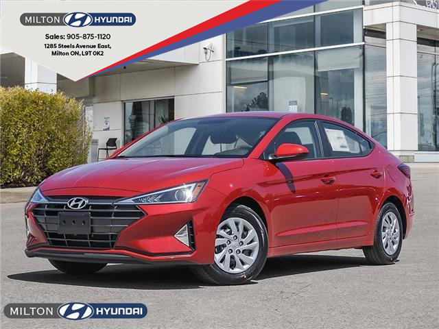 2020 Hyundai Elantra ESSENTIAL (Stk: 109829) in Milton - Image 1 of 23
