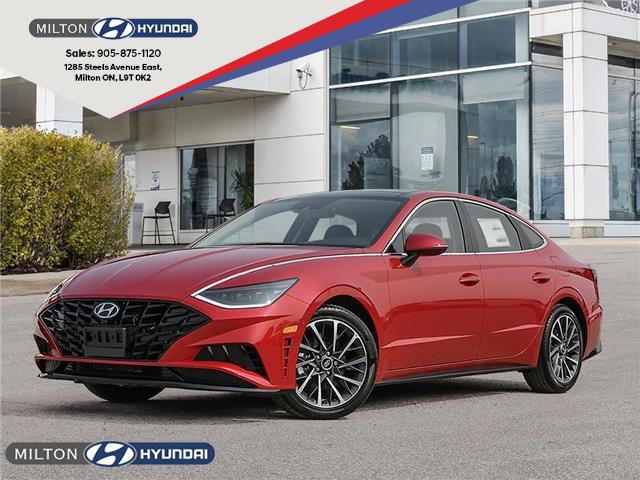2021 Hyundai Sonata Ultimate (Stk: 088234) in Milton - Image 1 of 23