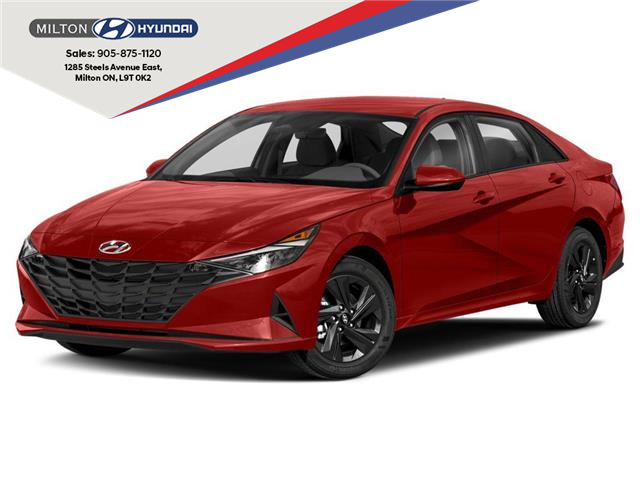 2021 Hyundai Elantra  (Stk: 123502) in Milton - Image 1 of 9