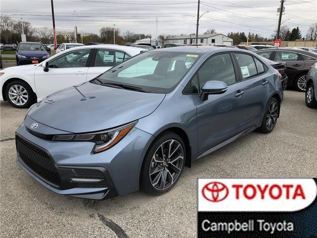 2020 Toyota Corolla SE (Stk: 42001) in Chatham - Image 1 of 11