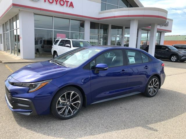 2020 Toyota Corolla SE (Stk: 42027) in Chatham - Image 1 of 10